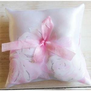Rózsaszín gyűrűpárna (rózsás)