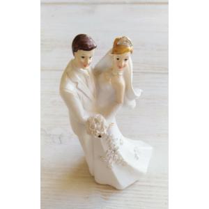Esküvős pár (közepes méret)