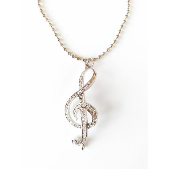 Violin kulcs nyaklánc