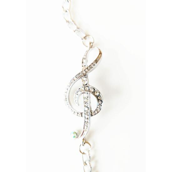 Violin kulcs karkötő