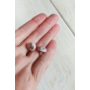 Kép 2/2 - Millefiori fülbevaló bézs