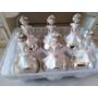 Kép 1/3 - Üveg pezsgő színű fenyődísz: M méret