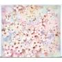 """Kép 2/5 - Cseresznye virágzás"""" Selyem festmény (50x44 cm)"""