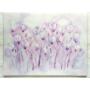 """Kép 2/3 - """"Levendula Liliomokkal"""" selyem festmény"""