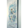 "Kép 4/4 - ""Hóvirág Tündér"" Selyem festmény (27x50 cm)"
