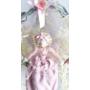 Kép 2/4 - Cseresznye virágos koszorú babával